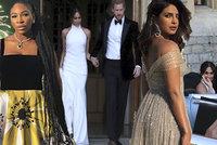 Svatba Harryho a Meghan ONLINE: Charles rozplakal večírek, princ vtipkoval, nevěsta zářila v nových šatech