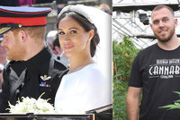 Dohra královské svatby: Synovec Meghan mával nožem! Zasahovala policie