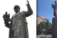 Koněv se na okupaci nepodílel, říká ruské velvyslanectví. Praha 6 si za textem u jeho sochy stojí
