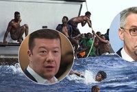 Migranti z Afriky rozvášnili poslance. Ministr odmítl okamurovce, že má Česko problém