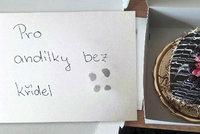 Sladká odměna pro andílky bez křídel: Neznámý dárce poslal brněnským hasičům dort