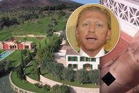 2b9d27b11cc staré Tenista Boris Becker jen zírá  Jeho luxusní vilu obsadil nahatý  hipísák!