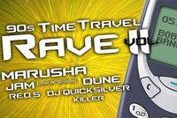 Legendy elektronické scény se vracejí na 90s Time Travel Rave vol. II