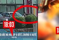 Video jako důkaz: Rodiče lhali! Žádných 5 minut, holčička v autě zmírala 22 minut