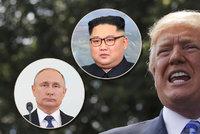 Kim je pro Trumpa prioritou. Po diktátorovi z KLDR se však chystá i schůzka s Putinem
