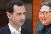 Asad se objednal na návštěvu ke Kimovi: Jeho excelence to vede skvěle