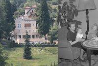 Vila rudé šlechty na prodej! Za 70 milionů. Těchto »zdí« se zmocnili Gottwaldova dcera a zeť Čepička