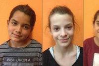Tři děti v ohrožení! Policie pátrá po Helence (10), Kačce (12) a Zuzce (12) z Ostravska