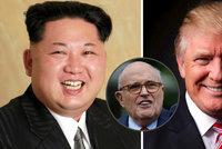 "Trumpův právník: ""Kim o summit prosil na kolenou."" Dojde i na lidská práva?"