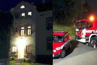 Výbuch v domě ve Františkových Lázních: Evakuovali 20 lidí, jeden člověk skončil v nemocnici