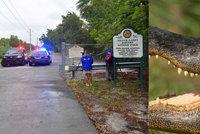 Ženu při venčení psa zabil aligátor. Její ostatky našli v parku