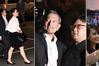 ONLINE: Kimova sestra přiletěla kvůli obavám zvlášť. Diktátor i dvojník si dělali selfie