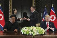 """""""USA získaly všechno."""" Trump si libuje nad smlouvou s Kimem, mají si volat"""