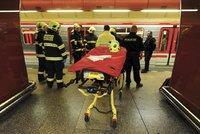 Člověk skončil pod metrem na Vltavské! Mezi nádražím Holešovice a Florencí vlaky nejezdí