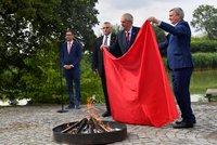 Zeman s rudými trenkami spálil Česku až dva miliony, galeristé lomí rukama