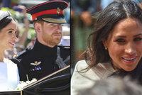 Meghan si před královnou pustila pusu na špacír: O Harrym vykládala, jaký je manžel