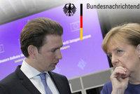 Pobouřené Rakousko: Němci je špehovali ve velkém. Kancléř Kurz žádá vysvětlení