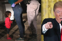 Plačící děti v klecích hnuly i Trumpem. Kritizované nařízení o migrantech zrušil