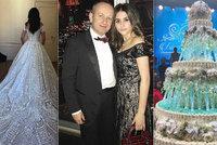 Svatba rozmazlené dcery miliardáře stála 300 milionů! Podívejte!