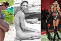 Andílek Victoria's Secret Candice Swanepoel: Domácí porod druhého dítěte!