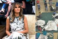Melania odsoudila utrpení dětí migrantů i skrze šaty. Trump vyměkl a podepíše dekret