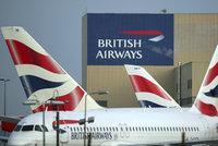 Piloti British Airways jdou do stávky. Zrušen byl už první let z Prahy
