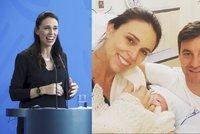 Novozélandská premiérka 6 týdnů po porodu znovu vládne. Na mateřskou nastoupí manžel