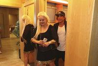Sagvan Tofi zatáhl Moniku Štikovou na záchod! Je to borec, pochválila ho pak matka Ornelly
