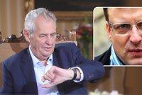 Zeman umírá na rakovinu, tvrdil politik. Prezident chce omluvu a 5 milionů