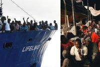 """Nechtěnou loď Lifeline s 230 migranty přijme Malta. A """"podá si"""" jejího kapitána"""