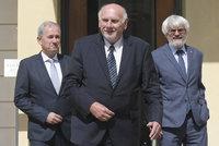 Za Zemanem dorazili šéfové soudů. Rychetský, Baxa i Šámal řešili budoucnost justice