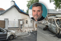 Muž z kauzy »Růžička a 500 tisíc na dřevo«: Zapálili mu auto a dům!