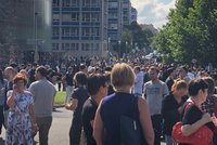 Evakuace 10 tisíc lidí na ČVUT! Anonym v budovách nahlásil bombu, pyrotechnik žádnou nenašel