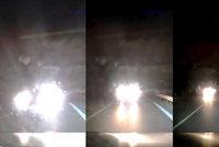 Děsivé záběry: Ukrajinec sedl za volant opilý, v zatáčce smetl protijedoucí auto