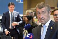 Italové zablokovali kvůli migrantům celý summit. Babiš dohodě v Bruselu nevěří