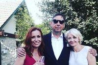 Otec Agáty Prachařové se oženil: Na svatbu pozval svou bývalku Žilkovou!