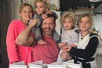 Otec čtyř dcer baví Instagram vtipnými fotkami. Nemám rád dokonalé rodiče, říká