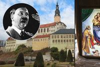 Hitlerova skrýš pokladů pár kilometrů od českých hranic: Zámek Weesenstein nabízí unikátní výstavu!