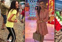 Slavní se rozutekli na dovolené: Borhyová k moři, Bučková na tábor a Makarenko na nákupy