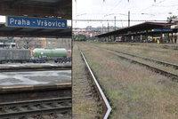 Stavba železničního koridoru mezi Hostivaří a Vršovicemi začala: SŽDC zavře i problematický podjezd