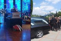 """Pohřeb """"Krále autobusů"""" (†63): Honosnému rozloučení předcházelo kvílení motorek"""
