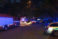 Na Hájích uniká plyn: Hasiči evakuovali 80 lidí