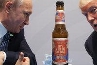 Summit Trumpa s Putinem se blíží. Na prezidenty v Helsinkách čeká i speciální pivo