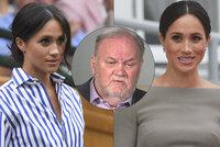 Nenapravitelný otec vévodkyně Meghan: Dcera je nešťastná a vyděšená! Pojedu za ní
