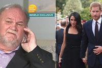 Tajemství otce vévodkyně Meghan: Jak přišel k 16 milionům?