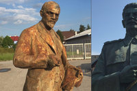 Lenin za mega, Stalin za dva a půl. Na internetu se draží sochy z Čech, zn. poštovné zdarma!