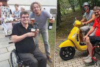 Statečný Michal Jančařík po odebrání druhé ledviny: Odmítá pomoc rodičů a ještě je utěšuje!