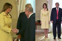 Děs Melanie Trump po setkání s Putinem: Lidé se baví mrazivou změnou ve tváři