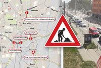 Dopravní hrůza v Brně pokračuje: Opravují další dva mosty, u Zvonařky zavřeli pruhy