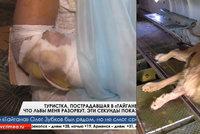 Olgu (46) napadl při focení lev: Zoologická zahrada jí odmítla poskytnout zdravotní péči